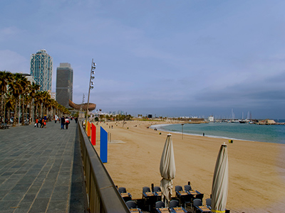 Barcelone sur mer